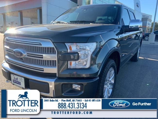Pre-Owned 2015 Ford F-150 BB 4WD SUPERCREW 145  PLATIN for sale in Pine Bluff, AR
