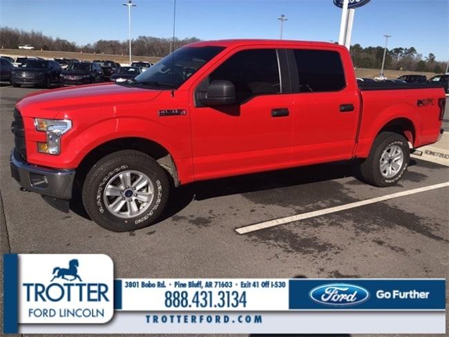 Pre-Owned 2017 Ford F-150 XL XL 4WD SUPERCREW 5.5 BOX for sale in Pine Bluff, AR