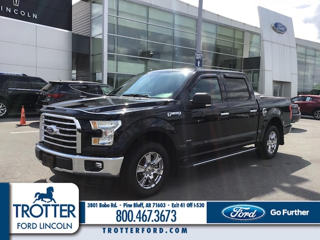 Pre-Owned 2017 Ford F-150 UG XLT 2WD SUPERCREW 5.5 BO for sale in Pine Bluff, AR