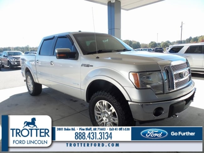 Pre-Owned 2012 Ford F-150 Lariat Truck SuperCrew Cab for sale in Pine Bluff, AR