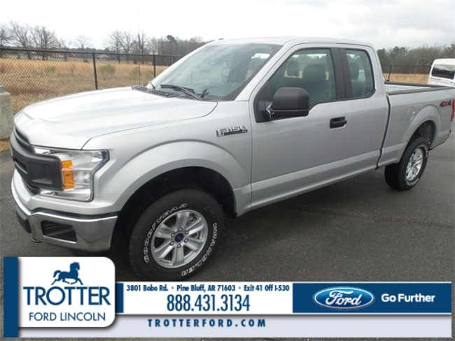 New 2018 Ford F-150 XL Truck SuperCab Styleside for sale in Pine Bluff, AR