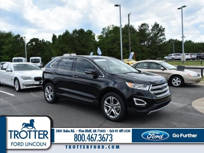 Pre-Owned 2017 Ford Edge Titanium Sport Utility for sale in Pine Bluff, AR