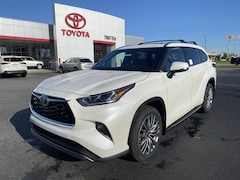 New 2021 Toyota Highlander Platinum SUV in Pine Bluff, AR
