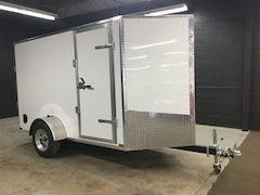 2017 Canadian Trailer Company 5X10 V-Nose Cargo Trailer Steel