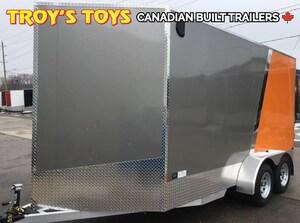 2018 Canadian Trailer Company 7X14 V-Nose Cargo Trailer -