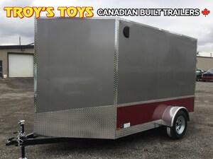 2018 Canadian Trailer Company 7X10 V-Nose cargo Trailer