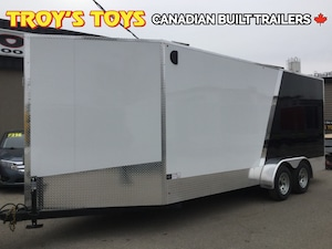 2018 Canadian Trailer Company 7X18 V-Nose Cargo Trailer