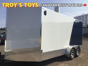 2017 Canadian Trailer Company 7X16 V-Nose Cargo Trailer -