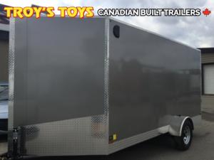 2017 Canadian Trailer Company 7X14 V-Nose Cargo Trailer
