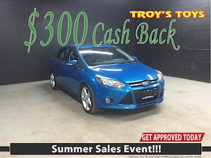 2012 Ford Focus Titanium $300 Cash Back On NOW!
