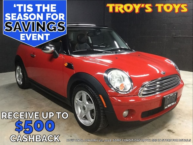 2010 MINI Cooper Hardtop Base Coupe