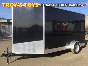 2018 Canadian Trailer Company 7X12 V Nose Cargo Trailer
