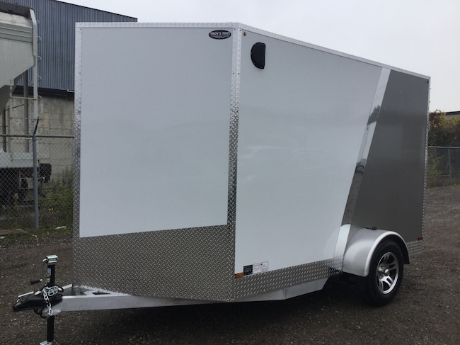 2018 Canadian Trailer Company 6X10 V-Nose Cargo Trailer