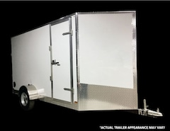 2018 Canadian Trailer Company 7X10 V Nose Cargo Trailer -