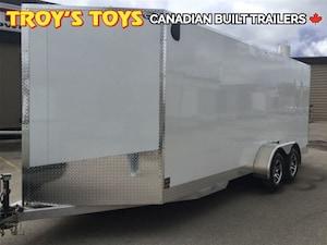 2017 Canadian Trailer Company 7X18 V-Nose Cargo Trailer