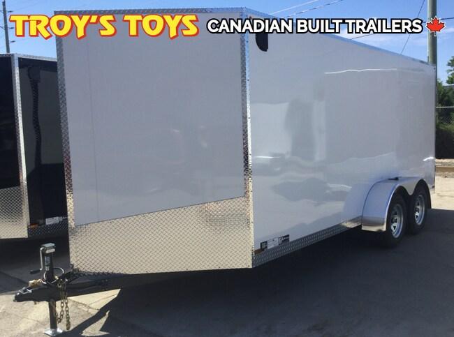 2019 Canadian Trailer Company 7X16 V-Nose Cargo Trailer