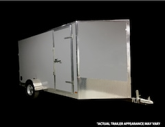 2018 Canadian Trailer Company 7X10 V Nose Cargo Trailer