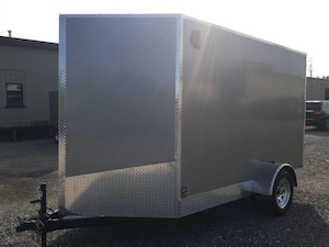 2017 Canadian Trailer Company 6X10 V-Nose Cargo Trailer -