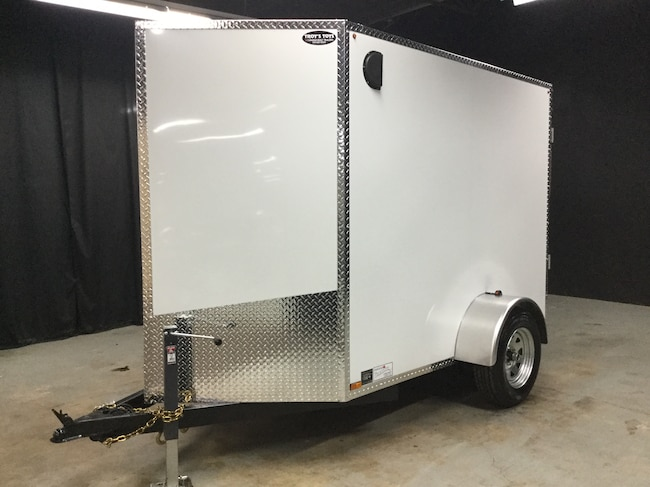 2018 Canadian Trailer Company 5X8 V-Nose Cargo Trailer