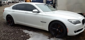 2009 BMW 750 FULLY LOADED  - TAN LEATHER INTERIOR