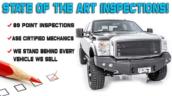 Our Commitment To Arizona Drivers Starts With An 89 Point Inspection