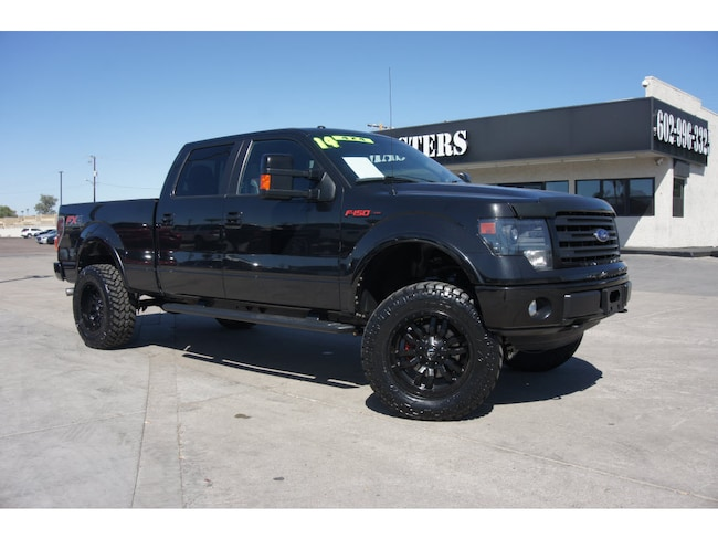 Used 2014 Ford F-150 Crwc 4x4 FX4  SuperCrew Styleside 6.5 ft. SB for sale in Phoenix, AZ at Truckmasters