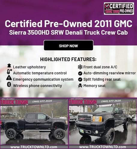CPO 2011 GMC Sierra 3500HD