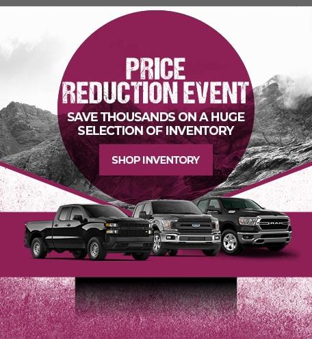 Price Reduction Event