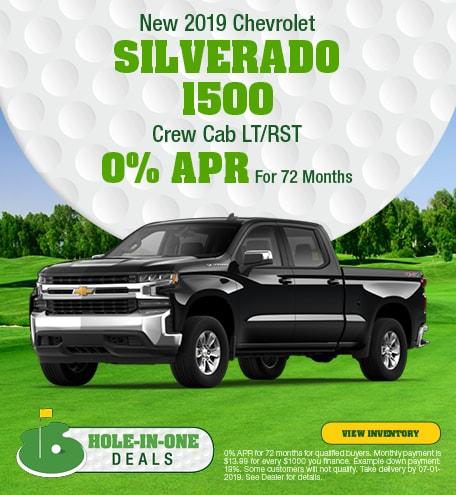 2019 Chevrolet Silverado 1500 Crew Cab LT/RST - APR