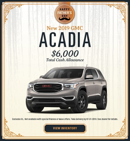 2019 GMC Acadia - Sale
