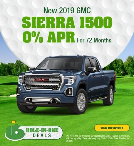 2019 GMC Sierra 1500 - APR