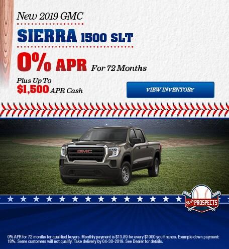 2019 GMC Sierra 1500 SLT - APR