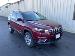 New 2021 Jeep Cherokee LATITUDE LUX 4X4 Sport Utility 1C4PJMMX7MD159896 For Sale in Colby, WI