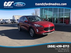 2020 Ford Escape Titanium EcoBoost I4 GTDi DOHC Turbocharged VCT for sale in Madras, OR