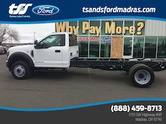 2019 Ford F-450SD XLT Power Stroke V8 DI 32V OHV Turbodiesel for sale in Madras, OR