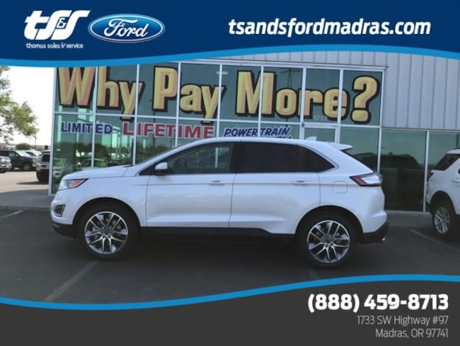 New 2018 Ford Edge Titanium EcoBoost I4 GTDi DOHC Turbocharged VCT in Madras