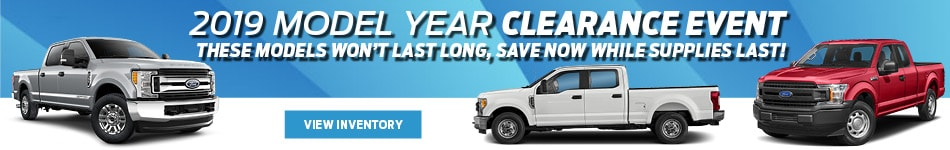 2019 Model Year Clearance Event