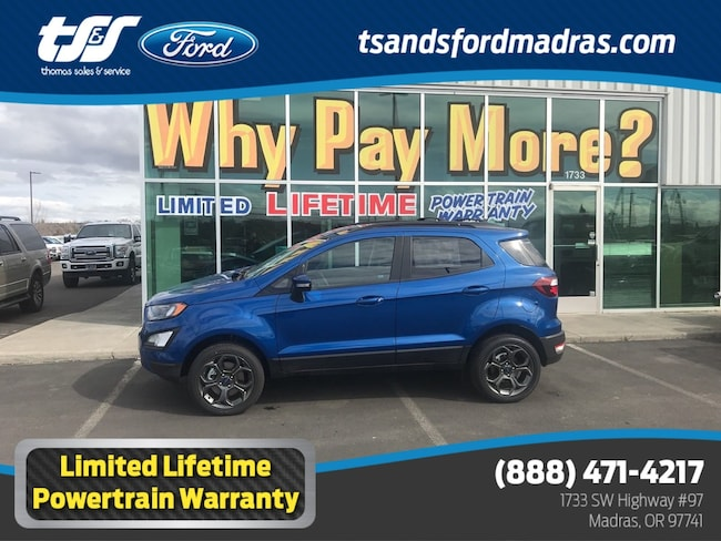 New 2018 Ford EcoSport SES I4 in Madras