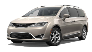 A tan 2019 Chrysler Pacifica