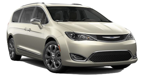 A gold 2019 Chrysler Pacifica Limited