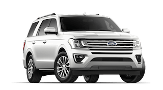 A white 2019 Ford Expedition