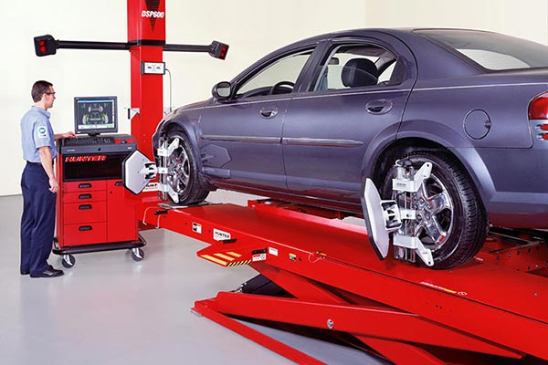 Two Wheel and Four Wheel Alignment