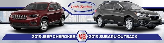 2019 Jeep Cherokee vs  2019 Subaru Outback | Which SUV is