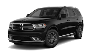 A black 2019 Dodge Durango