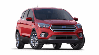 A red 2019 Ford Escape