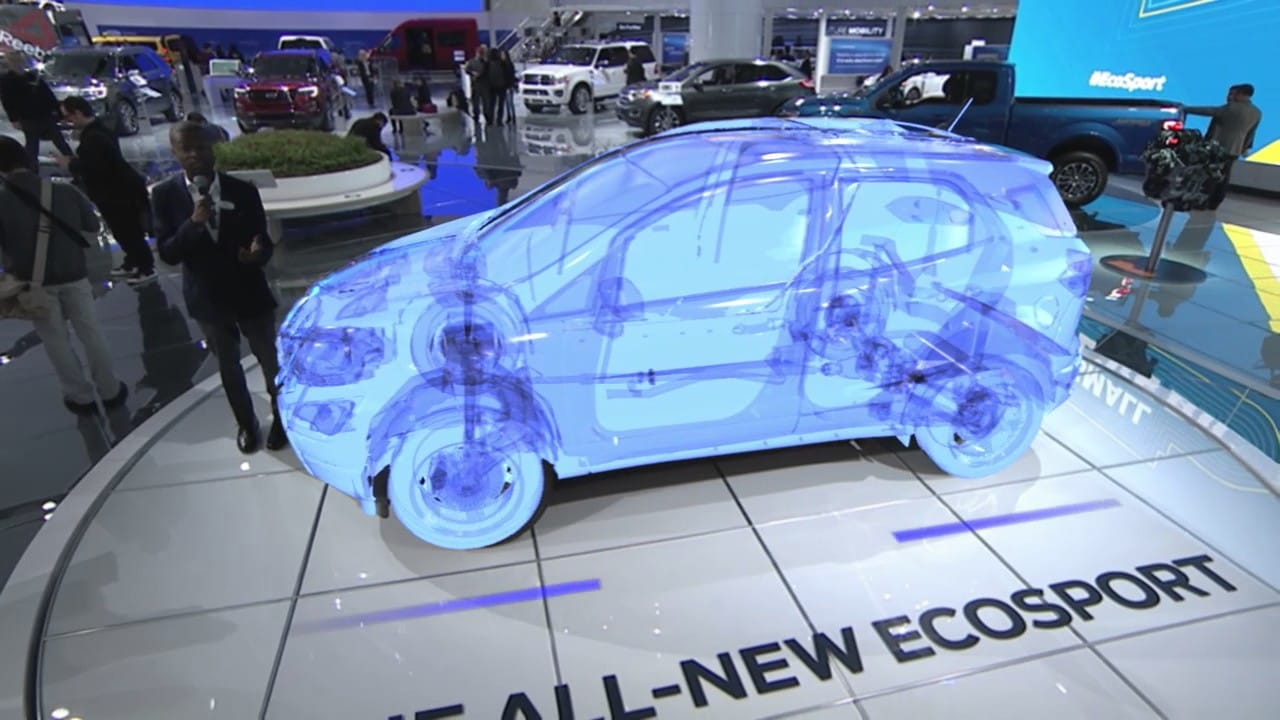 At The  North American International Auto Show Naias In Detroit Ford Debuted Their Augmented Reality Simulation To The World With Extremely High