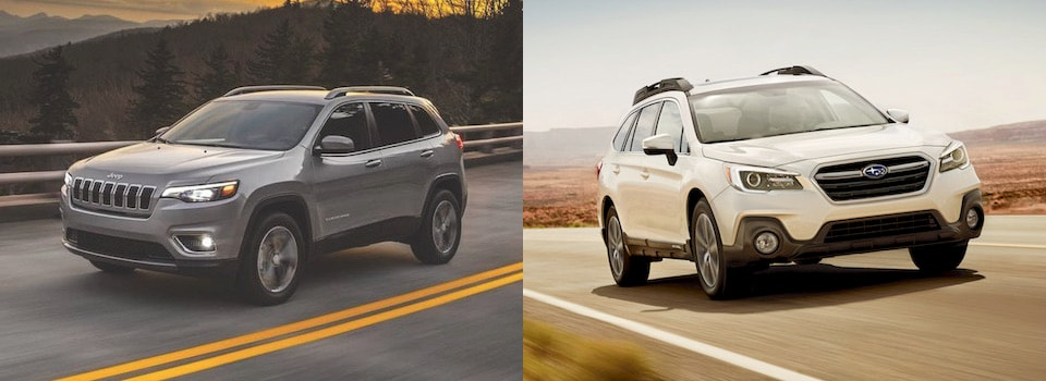 2019 Jeep Cherokee vs  2019 Subaru Outback | Which SUV is Better?