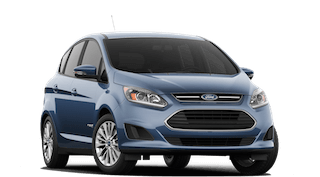 A blue 2018 Ford C-Max