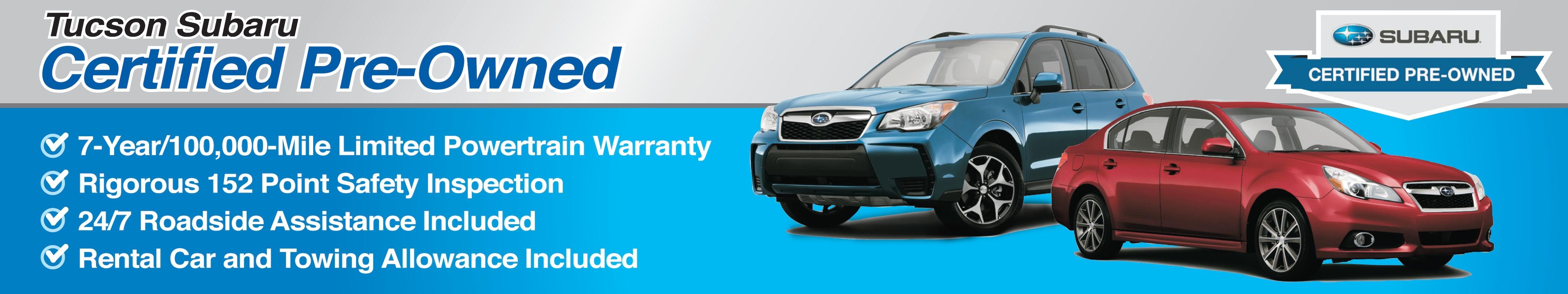 Certified Used Subaru Cars For Sale Tucson Subaru Serving Oro