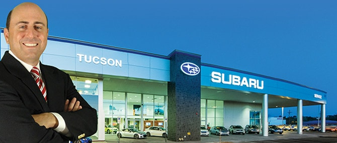 Meet Our Tucson Subaru Team Sales Service More